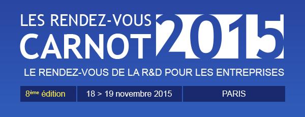 Les Rendez-vous CARNOT 2015
